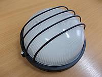 Светильник НПП1106 черный/круг сетка 100Вт, фото 1