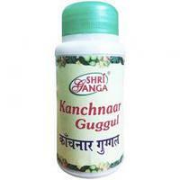 Канчнар Гуггул, Kanchnar Guggul Sri Ganga Pharmacy, 50 гр