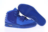Мужские кроссовки Nike Air Yeezy 2 Blue синие