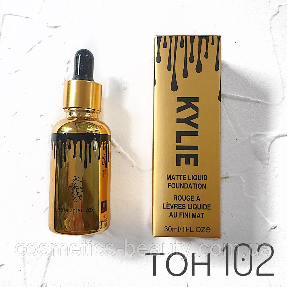 Тональний крем Kylie Matte Liquid Foundation (репліка).