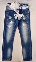 Джинсы для девочек оптом , Setty Koop размеры 4-12 лет, арт. LV 7343