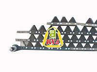 Нож жатки розборный (болт) 7,5м Balmet с фиксатором 670406 + на сегментах Balmet 611203, 670248 Claas, 626433
