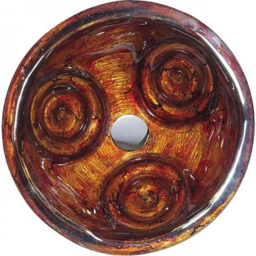 Умывальник стеклянный Tiger Eye Kraus GV-630-19mm