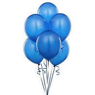 Шар латексный синий 12 дюймов