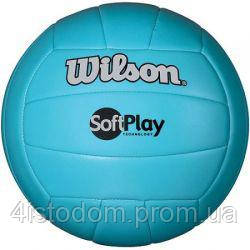 Мяч волейбольный Wilson Soft Play Blue