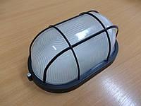 Светильник НПП1202 черный/овал решетка 100Вт, фото 1