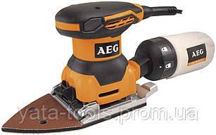 Машинка шлифовальная плоская (вибрационная) AEG FS 140