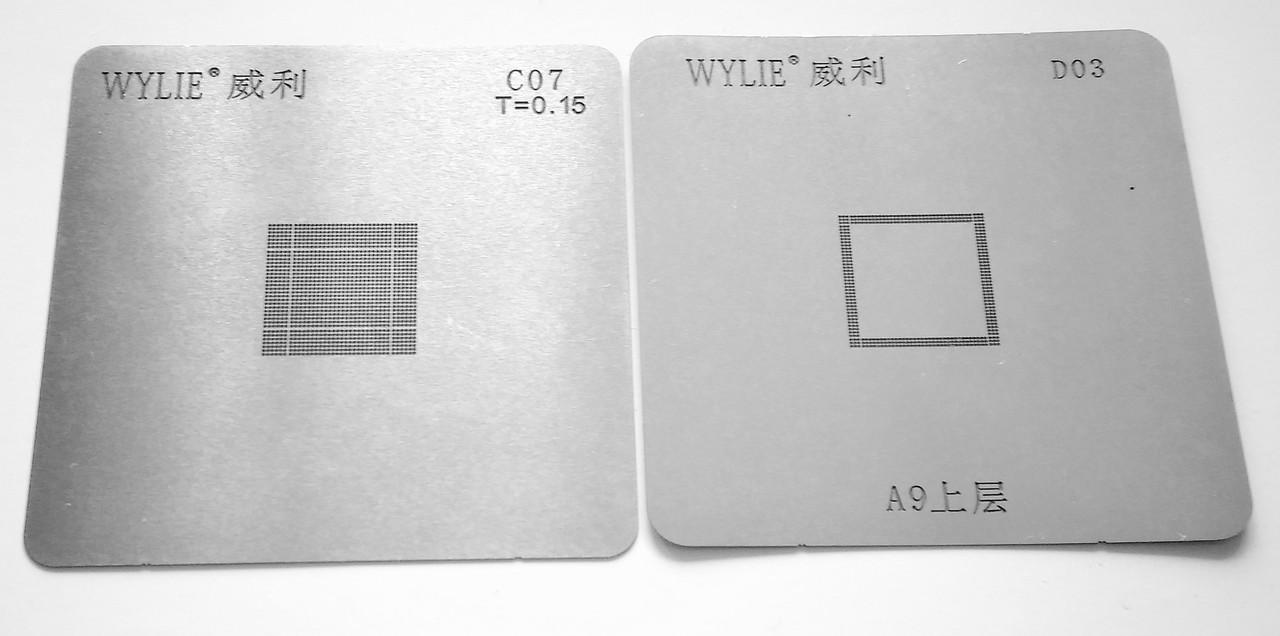 BGA-трафарет A9 CPU+RAM для мобильного телефона Apple iPhone 6S