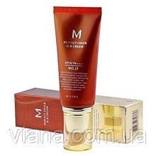 ББ крем с максимальной кроющей способностью MISSHA M Perfect Cover BB Cream 50ml 21 - светлый бежевый