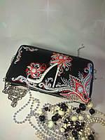 Кошелёк клатч с изображением туфельки