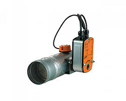 Клапан огнезадерживающий Вентс ПЛ-10-2-BLF-230-Т-ДН125/EI 120