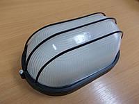 Светильник НПП1206 черный/овал сетка 100Вт, фото 1