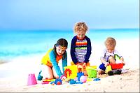 Игры с количеством. Вода и песок