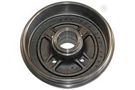 Барабан тормозной DACIA LOGAN/RENAULT CLIO/MEGANE,THALIA 2005-  В комплекте подшипник и кольцо ABS (