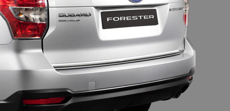 Молдинг задних дверей (хром) аксессуар Subaru Forester 13 MY Оригинал c 2012 (E755ESG000)