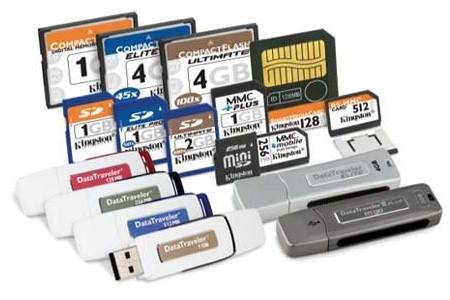 Карты памяти / USB Flash