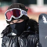 Защитная маска теплая для лица, шеи