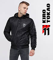 Бомбер мужской осенний 11 Kiro Tokao - 9991-1 черный