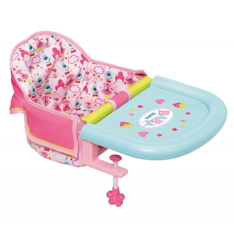 Стульчик для кормления пупса Baby Born Zapf Creation 825235