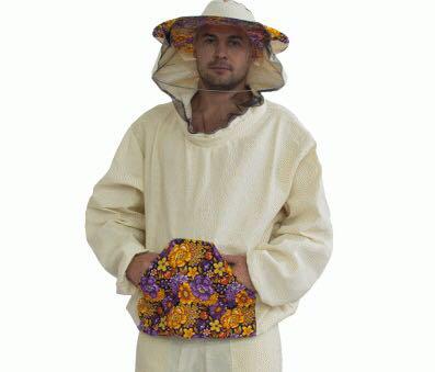 Куртка бджоляра х/б змійка №1