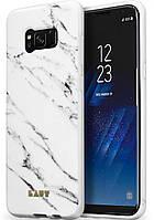 Чехол для Samsung Galaxy S8 (G950) Laut Huex Elements Marble White