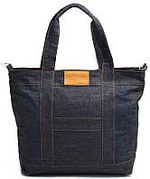 Женская молодежная джинсовая сумка POOLPARTY MALL SHOULDER BAG Арт: pool6-jeans синяя
