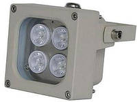 ИК LED прожектор Viatec S04D-60-IR, 60 метров