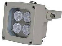 ИК LED прожектор Viatec S04D-30-IR, 100 метров