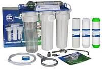 FP3-HJ-K1 Aquafilter четырехступенчатый бытовой фильтр FP3-HJ-K1 Aquafilter