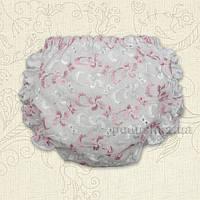 Трусы под подгузник Лето Бетис шитье розовое 68
