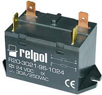 Промежуточное реле R20 30 Ампер 1 НО , 24 постоянки.