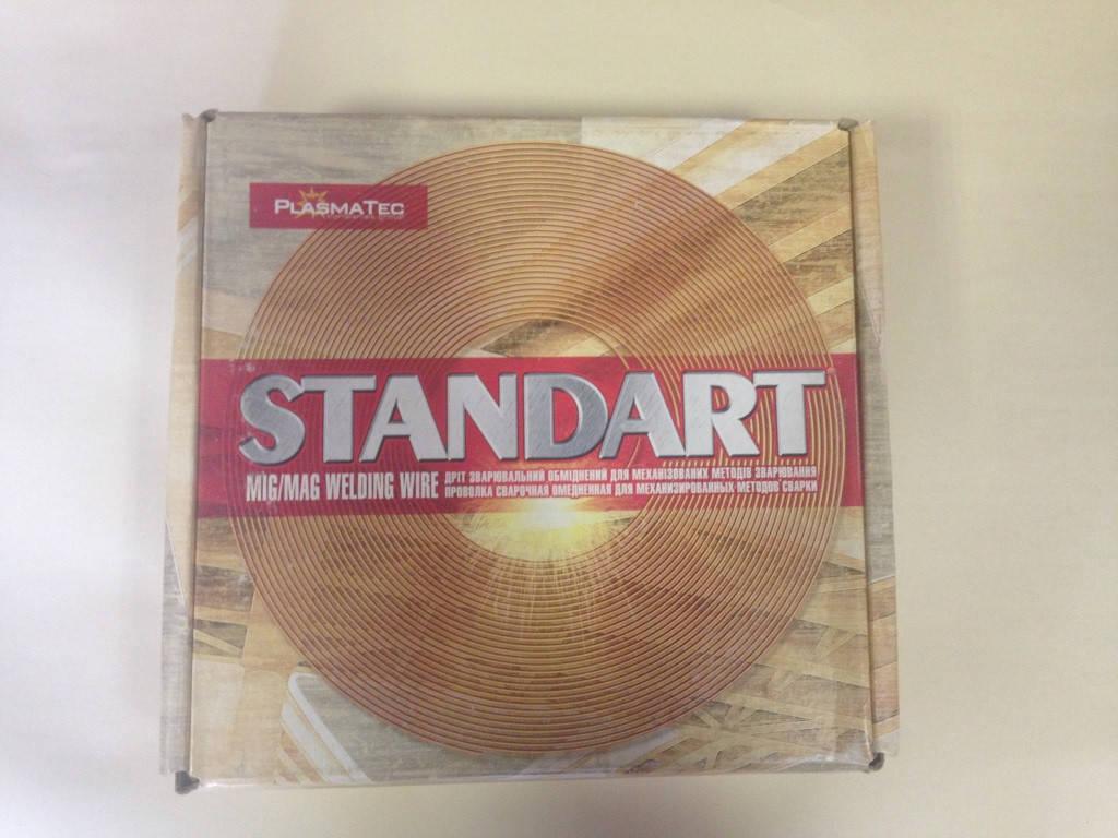 """Сварочная проволока омедненная """"Standart"""" 0,8мм/5 кг"""