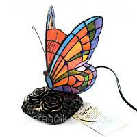 Лампа настольная бабочка (23х15х12 см)