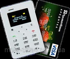 Телефон-кредитка AIEK M5! Кардфон - телефон размером с кредитку.