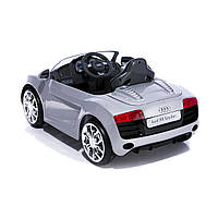 Детский электромобиль Geoby Audi R8 Spyder, серебристый W458QG-А04 ТМ: Geoby