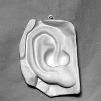 Гипсовая скульптура Ухо Давида 21 см