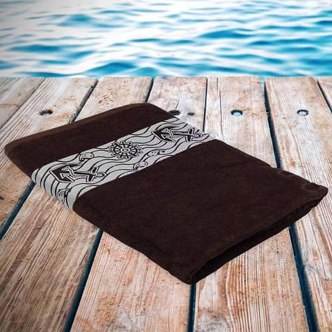 Полотенце Philippus пляжное 90 x 170 (Якорь) 90x170 6, фото 2