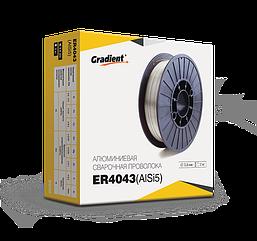 Сварочная проволока ER4043 1.0мм (2кг) Gradient