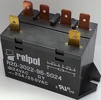 Промежуточное реле R20 25 Ампер 2 НО , 24 постоянки.