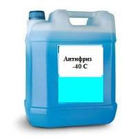 Антифриз А-40 (голубой, красный)