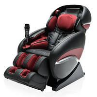 Массажное кресло Kennedy 4 с передовыми технологиями Натуральная кожа Черный