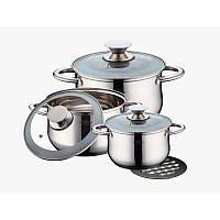 Набор посуды Peterhof PH-15259 ( 2,9 л. 3,9 л. 5,1 л. ) 7 пр., фото 1