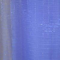 Тюль органза голубая