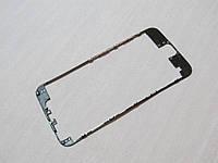 Дисплейная рамка для APPLE iPhone 6s чёрная с термоклеем