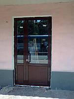 Металопластиковые двери VEKA EUROLINE