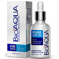 Сыворотка против акне и воспалений Pure Skin BioAqua Anti-Acne. 30 мл