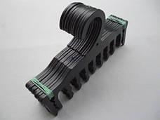 Плечики вешалки пластмассовые для нижнего белья WBR черные, 18 см, фото 3