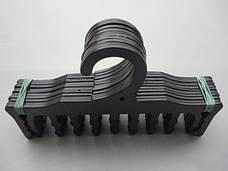 Плечики вешалки пластмассовые для нижнего белья WBR черные, 18 см, фото 2