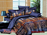 """Семейный набор хлопкового постельного белья из Бязи """"Gold"""" №152021 KRISPOL™"""