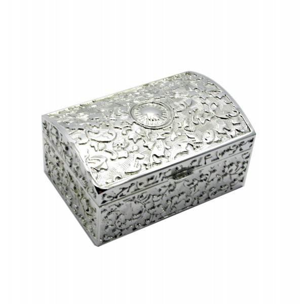 Шкатулка металл (8х5,5х4 см)